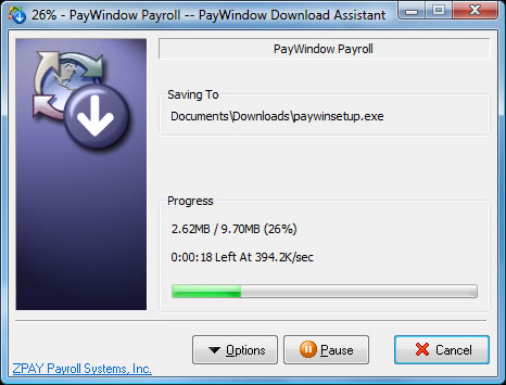 PayWindow Download Assistant