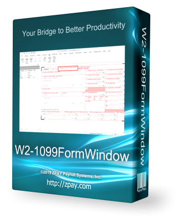 W2-1099FormWindow Payroll