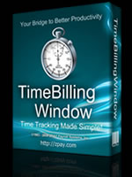 TimeBillingWindow Time Billing Software