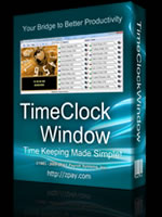 TimeClockWindow Software Time Clock